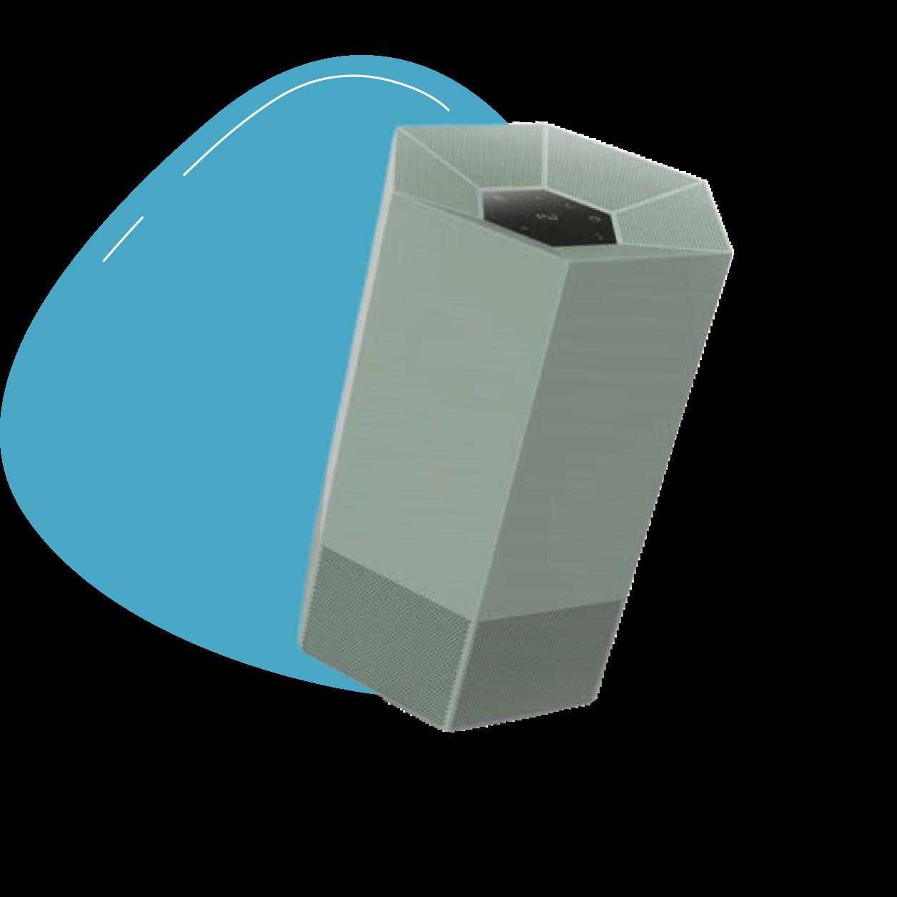 Purificateur d'air shield