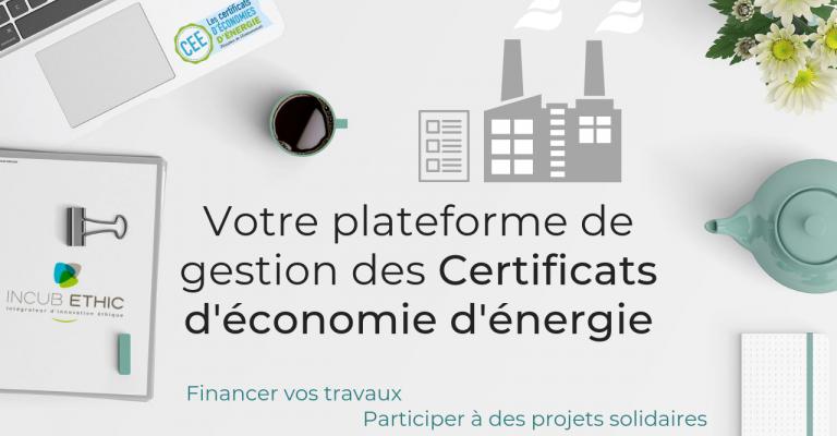 Votre plateforme de gestion des Certificats d'économie d'énergie