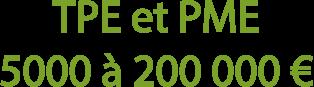 TPE et PME, des aides de 5000 à 200 000 € sont disponibles